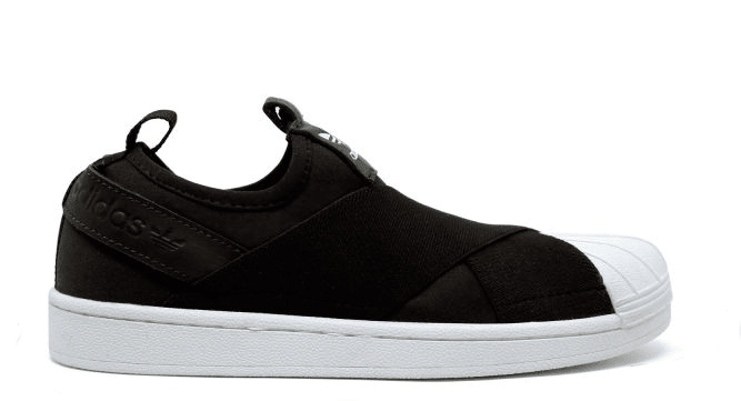 28d80433530 TENIS ADIDAS SUPERSTAR SLIP-ON - PRETO - Outlet Star