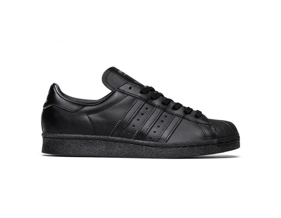 55bf2e90fec TÊNIS ADIDAS SUPERSTAR FOUNDATION PRETO - Outlet Star