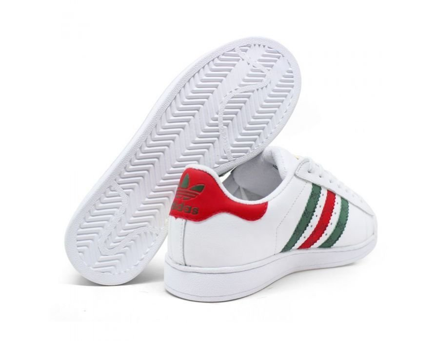 09a0e24ba44 TENIS ADIDAS SUPERSTAR GUCCI - Comprar em Outlet Star