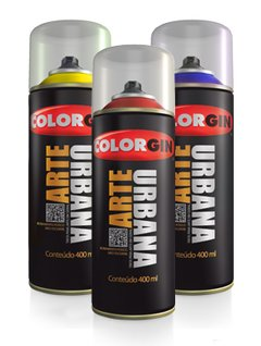 -> Colorgin spray arte urbana para grafitagem rosa chiclete 955