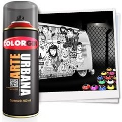 -> Colorgin Spray Arte Urbana Laranja Holanda 901