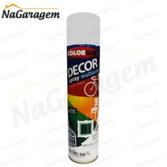 -> Colorgin Spray Decor Branco Fosco 8841 250g