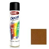 -> Colorgin Spray Decor Marrom Café 8821 250g