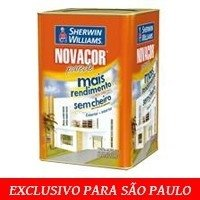 ~~> NovaCor Parede Acril. Fosco Mais Rendimento Terracota Natural 18L