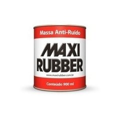 -> Massa Anti-Ruído 900ml Maxi Rubber
