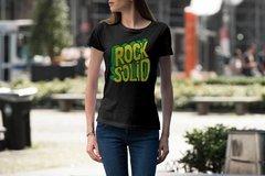 Camiseta feminina de Rock - Solid Rock