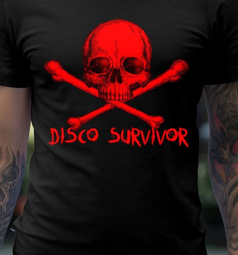 Imagem do Camiseta Disco Survivor | Hypnotzd