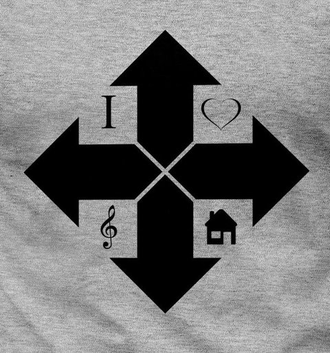 Camiseta House Music