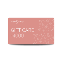 Gift Card - Tarjeta digital de regalo - Simple&Beauty