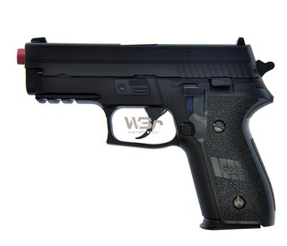 PISTOLA DE AIRSOFT GBB WE F229 RAIL