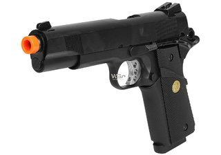 Pistola de Airsoft GBB Double Bell 1911 (728) Full Metal + Case Exclusiva