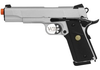 PISTOLA DE AIRSOFT Double Bell 1911 (728) + CASE