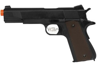 PISTOLA DE AISOFT Double Bell 1911 Full Metal (783) + CASE