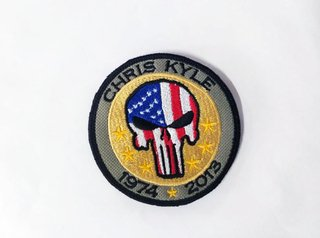 Patch Bordado Chris Kyle 1974 * 2013