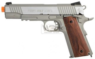 PISTOLA DE AIRSOFT CYBERGUN COLT 1911 (co2) - SILVER