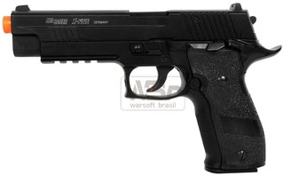 PISTOLA DE AIRSOFT GBB CYBERGUN SIGSAUER P226 X-FIVE CO2