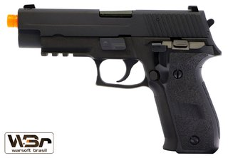 PISTOLA DE AIRSOFT WE F226 RAIL