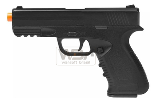 PISTOLA DE AIRSOFT SPRING GALAXY G39 - FULL METAL