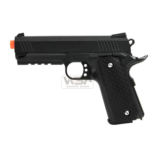 PISTOLA DE AIRSOFT SPRING G25 1911 WARRIOR - FULL METAL
