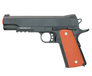 PISTOLA DE AIRSOFT VG 1911 V13 FULL METAL SPRING 6mm VIGOR