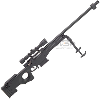 MINIATURA DECORATIVA EM METAL SNIPER L96 BLACK - ARSENAL GUNS