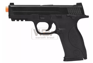 PISTOLA DE AIRSOFT SPRING GALAXY MP40 G51 - SLIDE METAL