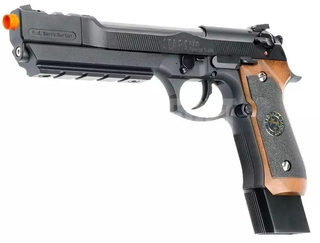Pistola de Airsoft GBB WE M92 BioHazard Extended Full Metal