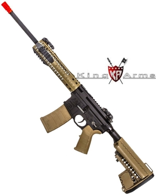 RIFLE DE AIRSOFT AEG KING ARMS RAIN ORDNANCE AG 197 FULL METAL