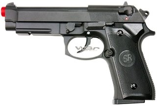PISTOLA DE AIRSOFT SRC SR-92 A1 FULL METAL