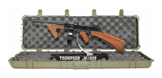 Miniatura Rifle Thompson Metálica 30cm