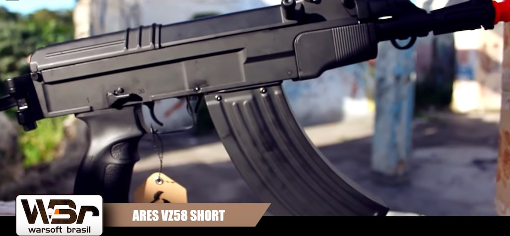 Review de airsoft: rifle ARES AEG VZ58 SHORT