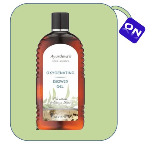 Oxygenating - Shower gel con extracto de Cuarzo Fumé