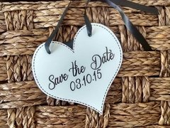 Plaquinhas Save the Date para os Pets na internet
