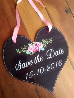 Plaquinha Save the Date para seu Pet - comprar online