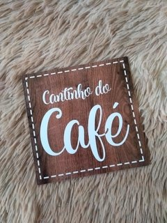 Quadrinho cantinho do café