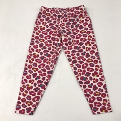Calza Animal Print Fucsia 3