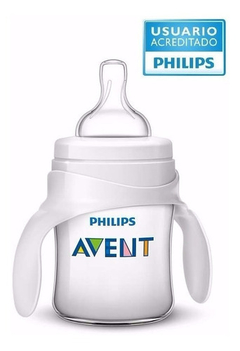 Mamadera Philips Avent 125 ml con azas Classic
