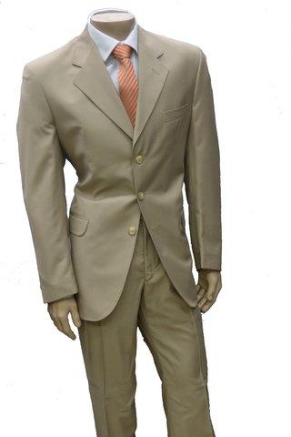 Ambo Gabardina saco entallado pantalón chupin terminación a mano calidad 188f861bc928
