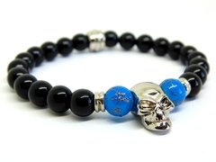 Pulseira Skull - 8mm na internet
