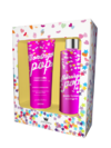 Kit Pokoteen Morango Pop 250 ML - Pokoloka - Body Splash + Hidratante Corporal