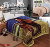 Frazada Patagonia Simil Piel Con Corderito Color Love And Home