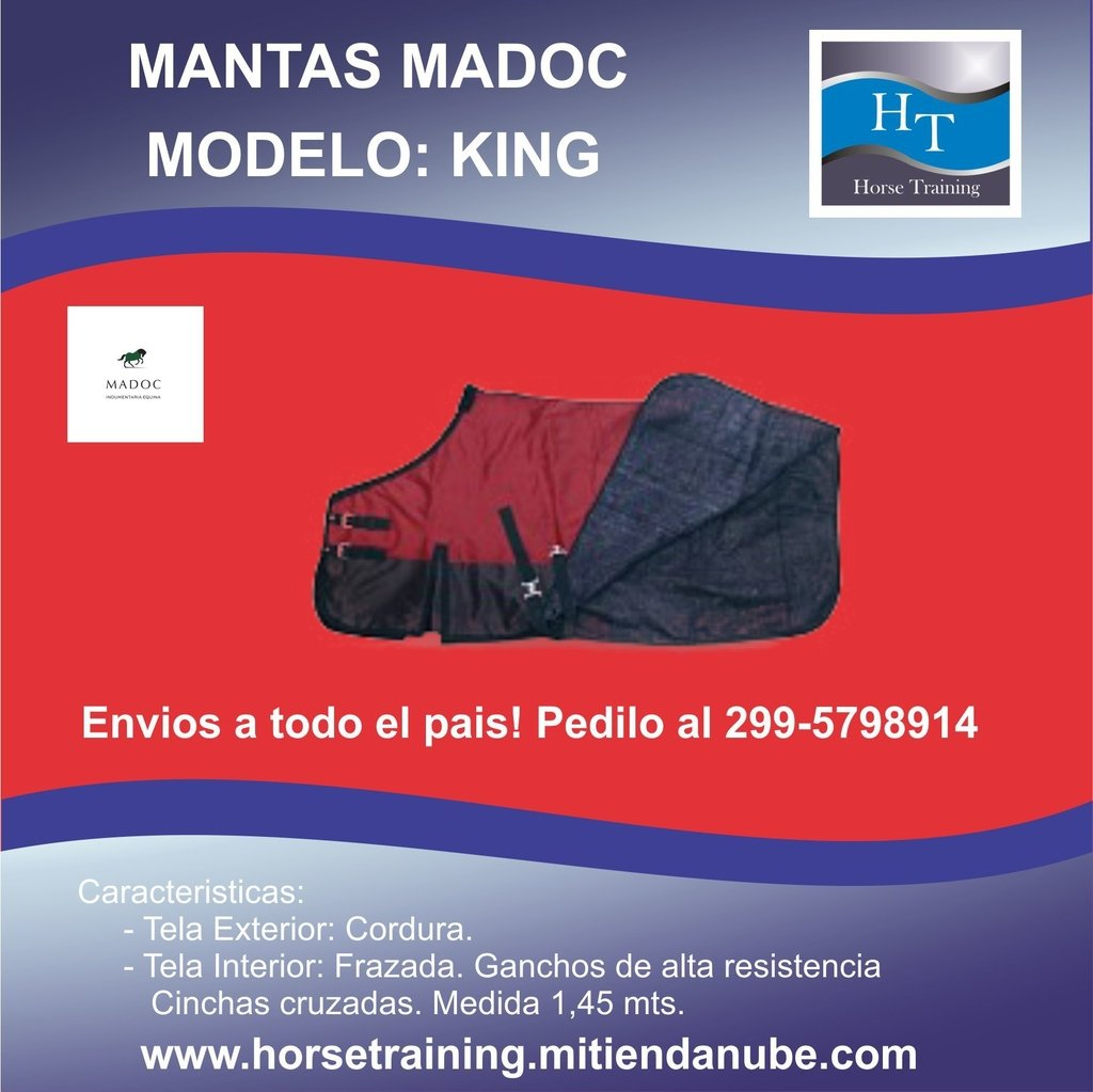 MANTA MADOC - MODELO KING