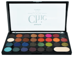 Paleta Chic Look - Kit de Sombras - Ruby Rose