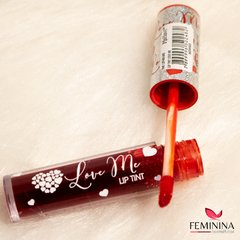 Kit LIP TINT - MAHAV com 3 cores Cereja, Maça do amor e Morango