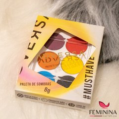 PALETA DE SOMBRAS ADVERSA #MUSTHAVE Tropical Girls