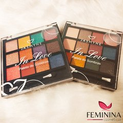 Kit 2 Paletas de Sombras Jasmyne In Love