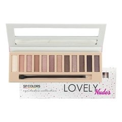 Paleta de Sombras Nudes SP Colors SP044
