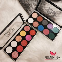 Paletas de Sombras Hello Beautiful!