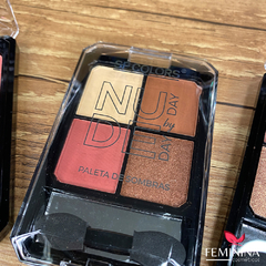 Paleta de Sombras Nude Day by Day SP Colors