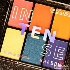 Paleta de Sombras Intense Shadow Sp Colors
